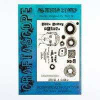 Craftascope A5 Plus Media Stamp Set - Such a Card - 19 Stamps-229709