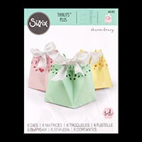 Sizzix® Thinlits™ Set of 6 Dies - Star Gift Bag by Sharon Drury-229712