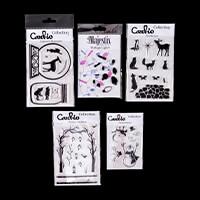 Card-io Winter Wonder Stamp Collection - 5 x Stamp Sets - 51 Stam-234509