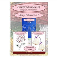 Add Some Sparkle Stitch Cards Design CD 1 and CD 2 (25 Designs)-234967