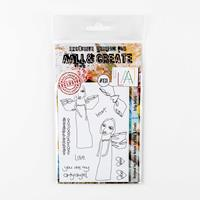 AALL & Create Stamp Set - Arty Angels - 9 Stamps-235221