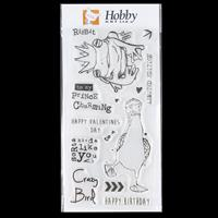 Hobby Art Clear DL Stamp Set - Limited Edition designed by Emily -235770