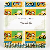 Fabric Freedom Construction Charm Pack - 42x5