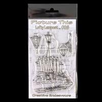 Picture This A6 Stamp Set - Lofty Lampost - 3 Stamps-237358