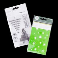 Kaisercraft First Noel Stamp Set with Stars Mini Template - 4 Sta-238018