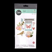 Sizzix® Thinlits™ Set of 27 Dies  - Floral Banner by Sophie Guila-238426