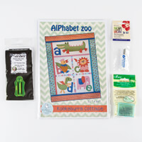 Oh Sew Sweet Shop Alphabet Zoo Pattern & Haberdashery Bundle-239049