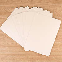 Centura Pearl Luxury Double Sided Ivory A4 Card Pack 320gsm - 40 -239743