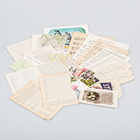 Simply Vintage Paper Craft Inspiration Pack - Minimum 30 Elements-239921