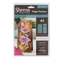 Sheena Perfect Partners Die Set - Scalloped Tags - 4 Dies-241034