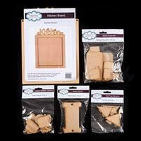 Creative Expressions 5 x Packs of MDF Shapes In Assorted Designs -242271