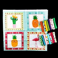 Oh Sew Sweet Shop Cutie Pack Bundle Set - 16 x Fat Eights, 1 x Pa-242871