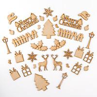 Daisy's MDF Christmas Embellishments - 34 Pieces-244948