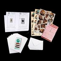 Add Some Sparkle Something for Him Paper Embroidery Kit - Makes 8-245251