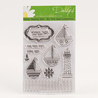 Daisy's By the Sea - Boats Clear Stamp Set - 11 Stamps-250694