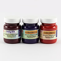 IndigoBlu Set of 3 Pick n Mix 60ml Translucent Paints-251181