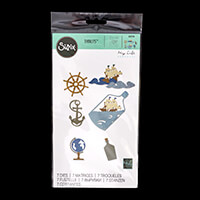 Sizzix® Thinlits™ Set of 7 Dies - Ship in a Bottle by My Life Han-251304