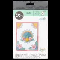 Sizzix® Thinlits™ Set of 15 Dies - Tropical Elements by Courtney -252696