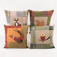 Quilting Antics Woodland Friends and Pleasant Pheasant patterns-253927