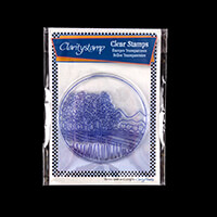Claritystamp Napa Valley Round Fine Line Stamp Set-255565