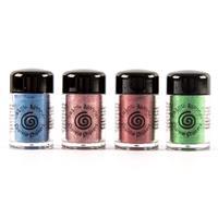 Cosmic Shimmer 4 x 10ml Sparkle Shakers – Ultramarine Blue, Rose -256392