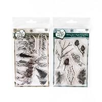 Samantha Braund Arts White Hart Deer Collection 2 x A6 Stamp Sets-257133