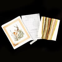 Thea Gouverneur Deer Cross Stitch Kit - 35cm x 45cm-257482