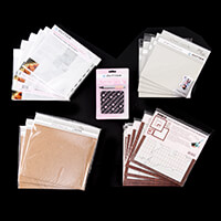 Zutter - Covers, Punched Page Protectors & Punch Tool - 52 Pieces-257824