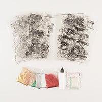 Glitter Greetings Christmas Favourites - Inc 12 Designer Acetates-258110