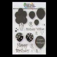 Imagine Design Create Birthday Balloons A5 Stamp Set - 17 Stamps-259446