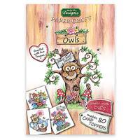 Katy Sue Designs Owls Paper Craft Pad-260002