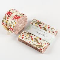 Fabric Freedom Heritage Florals Swiss Roll- 20 Strips & 42 Piece -260598