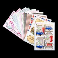 Ladies & Gents Cardmaking Kit -  32 Sheets of A4 Card & 16 Diecut-265798