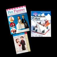 Search Press 3 x Cake Decorating Books - Brides And Grooms, Chris-266503