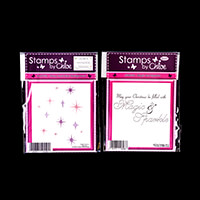 Stamps by Chloe Fairy Dust Star Background & Magic and Sparkle Se-267404