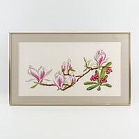 Thea Gouverneur Magnolia Branch Cross Stitch Kit-267539