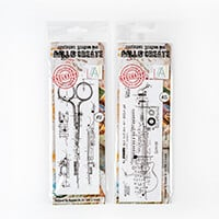 AALL & Create 2 Stamp Sets - Scissors and Vocalist - 9 Stamps-267738
