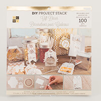 DCWV Project Stack Gift Decor and Pocket Tags - Decorates Over 10-269894