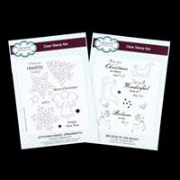 Creative Expressions 2 x Stamp Sets - Stitched Angel & Believe In-270621