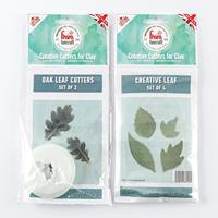 FMM FunCraft 3 x Oak Leaf & 4 x Creative Leaf Cutters Set-270727