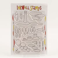 Inkwell Pebbles Ocean Stamp Collection - Includes 15 Stamps-271611