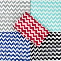 Fabric Freedom Cheveron Pack 5x1 Metre - 100% Cotton-272483