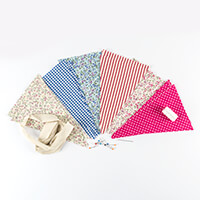 Sew Mine Box Decorative Bunting Kit-274755