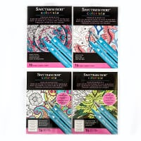 Spectrum Noir Colorista A4 Marker Pads x 4 - Promise, Sea, Bouque-275067