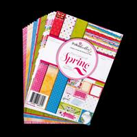 Poseydoodles Colour of Spring Paper Pack - 24 A5 Sheets-276831