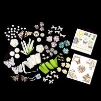 Craft Buddy 1 x Mixed Media Embellishment Kit - MDF, Die Cuts, Fa-277585