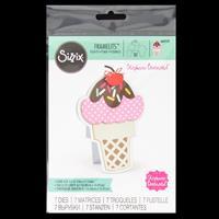 Sizzix® Framelits™ Set of 7 Dies - Ice Cream Fold-its by Stephani-278693