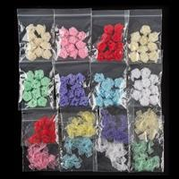 Selection of Assorted Fabric Bows and Roses In Assorted Colours --280250
