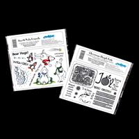 Creative Expressions 2 x Stamp Sets - Sleigh Ride & North Pole Fr-280638