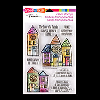 Stampendous Family Home Clear Stamp Set - 8 Stamps-280828
